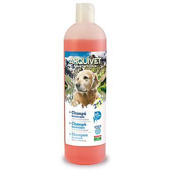 Arquivet шампунь + кондиционер 2 в 1 (собак, груминг & благополучия, шампуни)