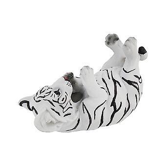 Белый бенгальский тигр Cub настольная одной бутылки вина держатель дисплея