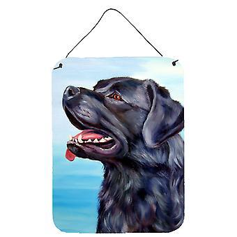 Caroline'S Treasures Black Labrador Retriever Wall Or Door Hanging Prints 7389Ds1216, 16Hx12W, Multicolor
