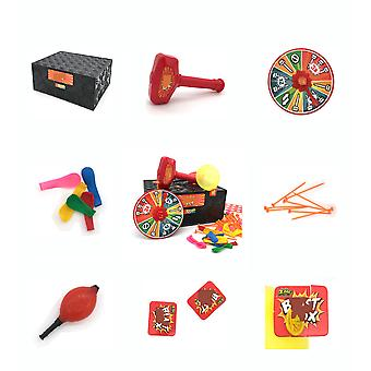 Balloon Explosion Blast Box Funny Board Toy Party Game