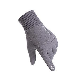 Mannen dames Guantes -30 waterdichte winddichte warm fluweel koudbestendige handschoen