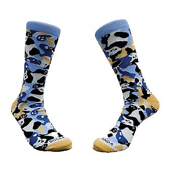 Camouflage Panda Socks from the Sock Panda (Adult Large)