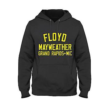 Felpa con cappuccio Floyd mayweather jr. leggenda del pugilato