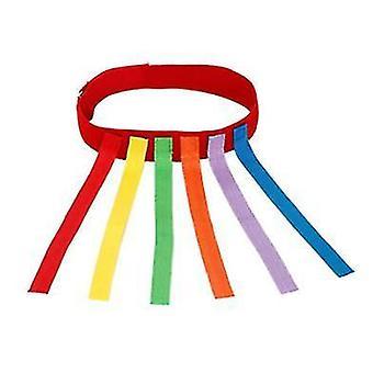 Rot ziehen den Schwanz Spielzeug klebrigtrikot Sinn Trainingsgerät Outdoor-Sport-Spiele x2565