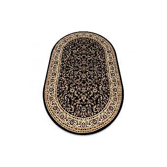 البساط الملكي ADR تصميم بيضاوي 1745 أسود