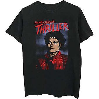 Michael Jackson - Thriller Pose Men's Large T-Shirt - Black