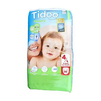 Maxi Night & Day Diapers (T4) 7-18kg 50 units (T4 (7-18 kg))