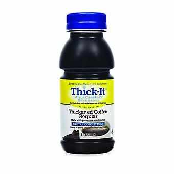 Thick-It Thickened Beverage 8 oz Coffee Flavor, Regular Coffee / Nectar 1 Each