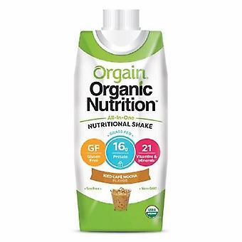 Orgain Oral Supplement Orgain Organic Nutritional Shake Iced Caf? Mocha Flavor 14 oz. Container Carton Rea, 1 Each