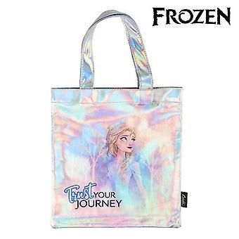 Bag Frozen 72872 Sky blue Metallic