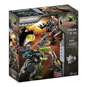 Playset Dino Rise T-Rex Playmobil 70624 (84 pcs)