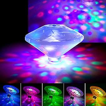 LED Disco Party Licht Floating Light RGB Submersible Glow Show Schwimmbad Whirlpool Spa Lampe Baby