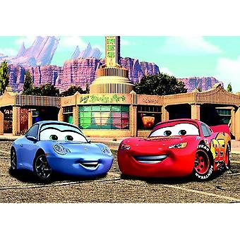 Big Decoration Mural Lightning & Sally, Disney Pixar Cars