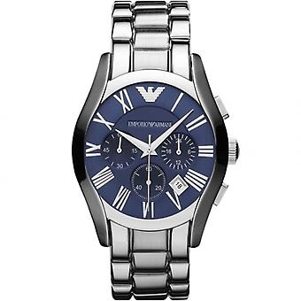 Emporio Armani AR1635 Blue Dial Stainless Steel Blue Dial Chronograph Watch