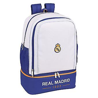 Sporttas met Schoenhouder Real Madrid C.F. Blauw Wit