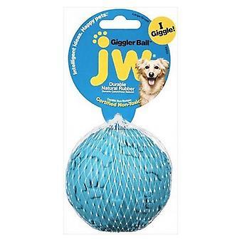 "JW Pet Giggler Laughing Ball Dog Toy - Big Giggler Ball (3.25"" Diameter)"