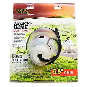 "Zilla Reflector Dome with Ceramic Socket - 60 Watts (5.5"" Diameter)"