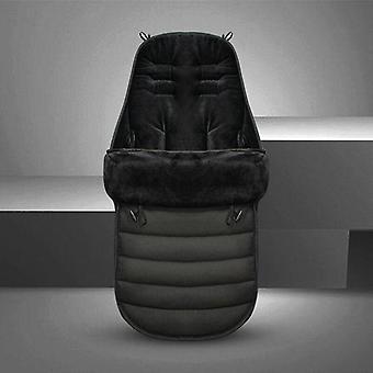 Lastenrattaiden makuupussi Lämmin rattaiden jalkapeite Paksuntaa tyynyn jalkapeitettä
