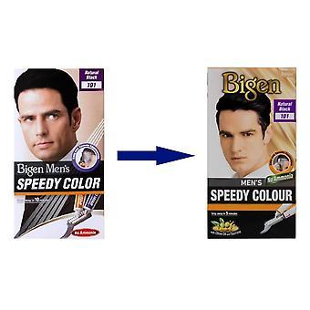 Bigen Men's Speedy Colour Natural Black #101