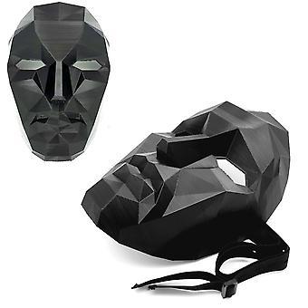 Blæksprutte Spil Front Man Boss cosplay Halloween fest maske