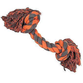 Dog toys h/pet extreme 2 knot tug sgl