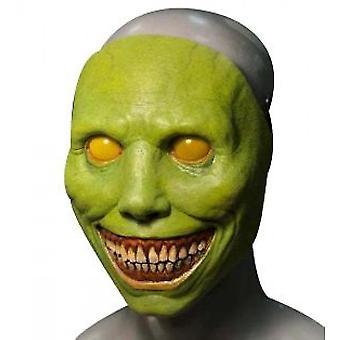 Halloween Scary Mask Smiling Demon