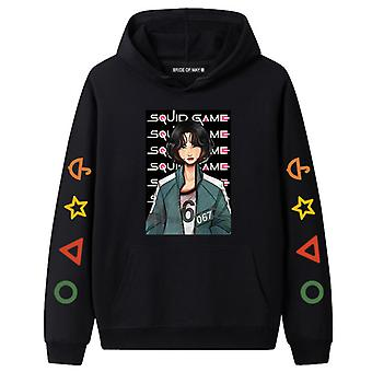 Squid Game Couple Hoodie Casual Clothes Man And Woman