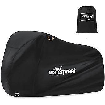 Cykelskydd utomhus vattentäta cykelöverdrag med låshål