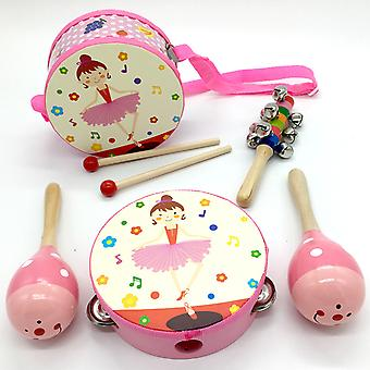 Dancing Girl Design Musical Instruments Toy
