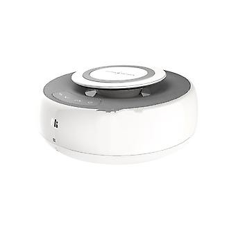 Mc2 2-i-1 Qi rask trådløs lader Bluetooth stereohøyttalere med AUX-porttilkobling og Nfc Play-musikk