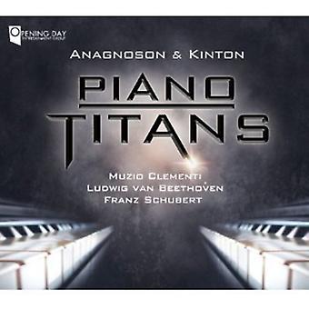 Clementi/Beethoven/Schubert - Piano Titans: Clementi, Beethoven, Schubert [CD] USA import