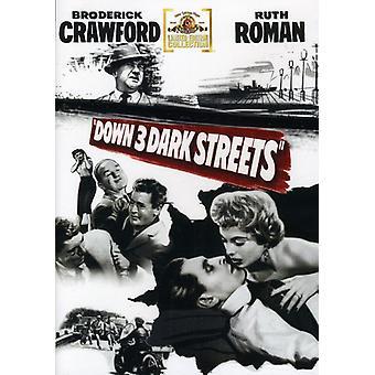 Ned tre mørke gader [DVD] USA import