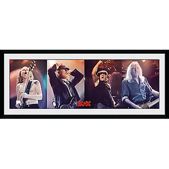 AC/DC Band Framed Collector Print