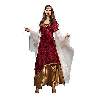 Elfe Prinzessin Damen Kostüm Elfenkostüm Damenkostüm Rot