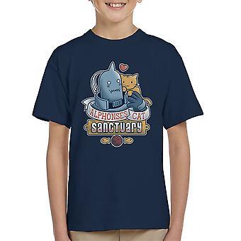 Alphonses kat heiligdom Full Metal Alchemist Kid's T-Shirt