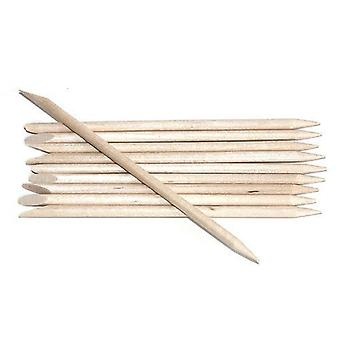 Orange Wood Orangewood Sticks Stick Cuticle Pushers Pointed & Bevelled Ends x 50 pcs by Boolavard