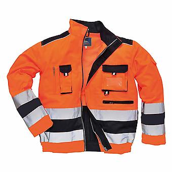 Portwest - Lille Texo Premium Workwear Uniform Two-Tone Hi-Vis Safety Jacket