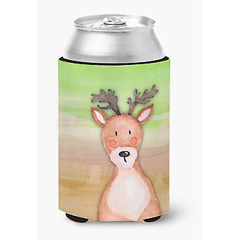 Carolines Treasures  BB7435CC Deer Watercolor Can or Bottle Hugger