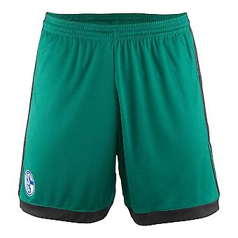 2017-2018 Schalke Adidas trzeciej szorty (zielony) - dla dzieci