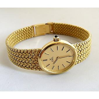 Yellow Gold Ebel watch