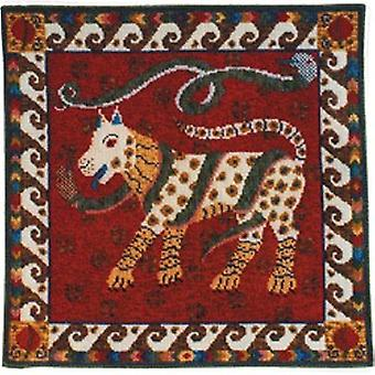 Dog and Snakes Needlepoint Kit