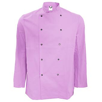 Dennys Unisex Long Sleeve Stud Button Chef Jacket