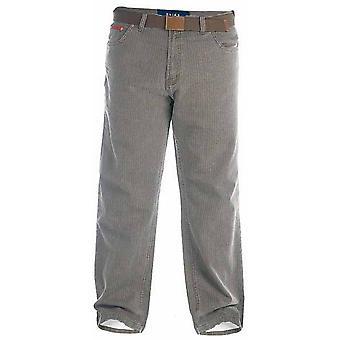 Герцог Лондон Мужская двуспальной Брайан Бедфорд шнур брюки с поясом