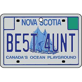 NOVA SCOTIA - beste tante lisens Plate bil Air Freshener