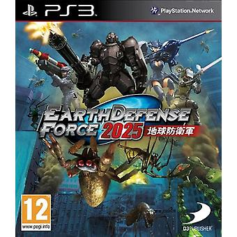 Earth Defence Force 2025 (PS3) - Factory Sealed