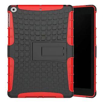 Caso di copertura protettiva esterna ibrido rosso per la borsa NEW Apple iPad 9,7 2017
