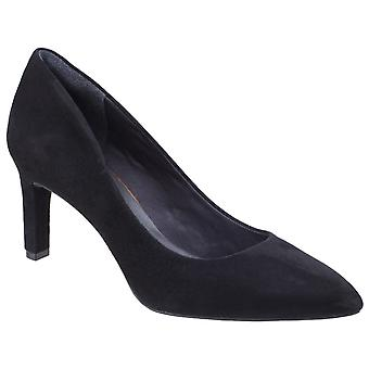 Rockport Womens Total Motion Valerie Pump Black Suede