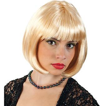 Blonde Lola Bob perruque poney cheveux courts