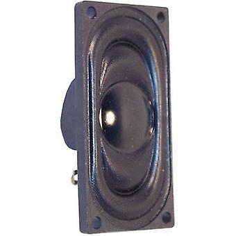 Visaton 2941 Mini kaiutin melupäästöjä: 76 dB 1 W 1 PCs()