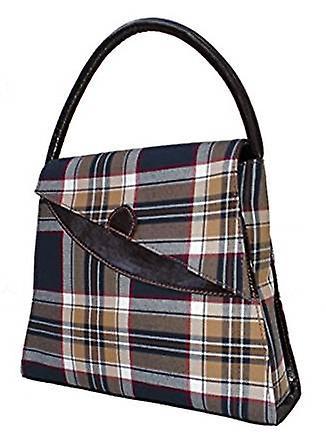 Tartan Handbag Lucy (Stewart Navy)